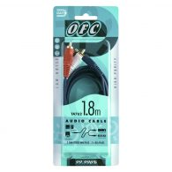 TA 762 Stereo 3.5mm Plug to 2 RCA Plugs 1.8m
