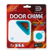 DDB 33WT Wireless Door Chime (Battery) Turquoise