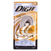 DT 8115 Telephone Cable Pin To Socket 15.0M