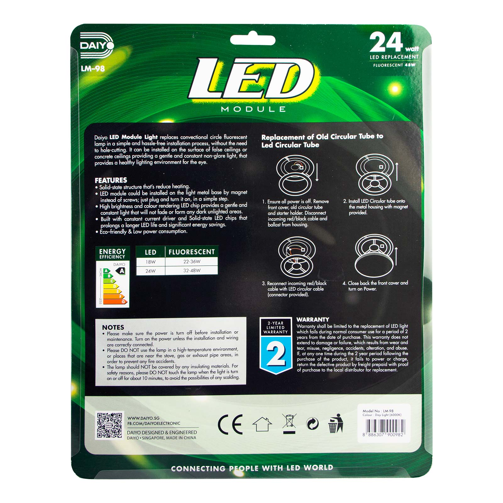 LM 98 LED 24W Module Light (Day Light)